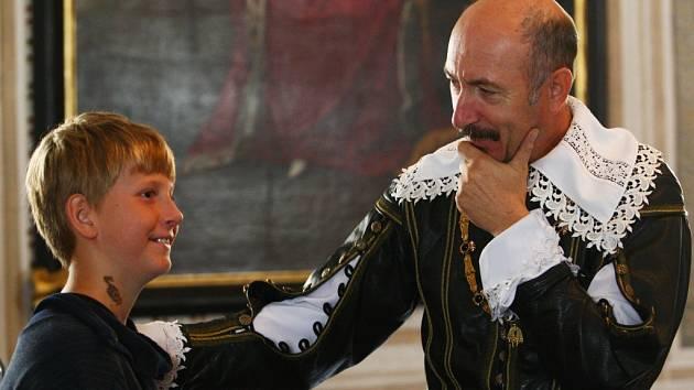 Na frýdlantském zámku proběhla audience u Albrechta z Valdštejna