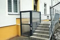 Původní budovy v Pastýřské ulici v Liberci v nichž sídlí Policie ČR prošly opravami.