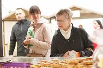 Den regionálních potravin Libereckého kraje 2019 na libereckém náměstí.