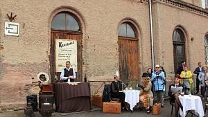 V polském Zawidówě vítali vlak z Čech