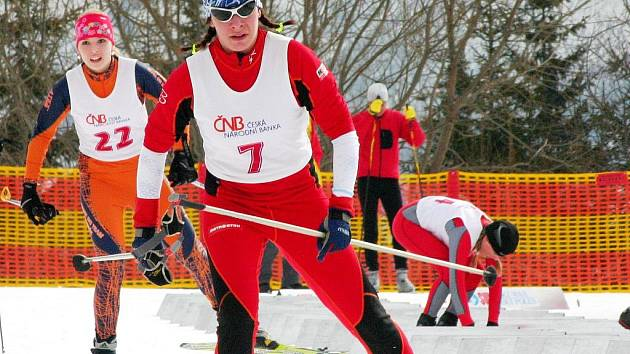 Běžkyně na lyžích Petra Hynčicová (7)