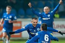 Zápas s Boleslaví rozhodl Bosančič. Podaří se Slovanu vyhrát i v Olomouci?