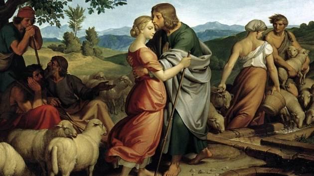 JEDNO Z DĚL Führicha. Josef se setkává s Ráchel.