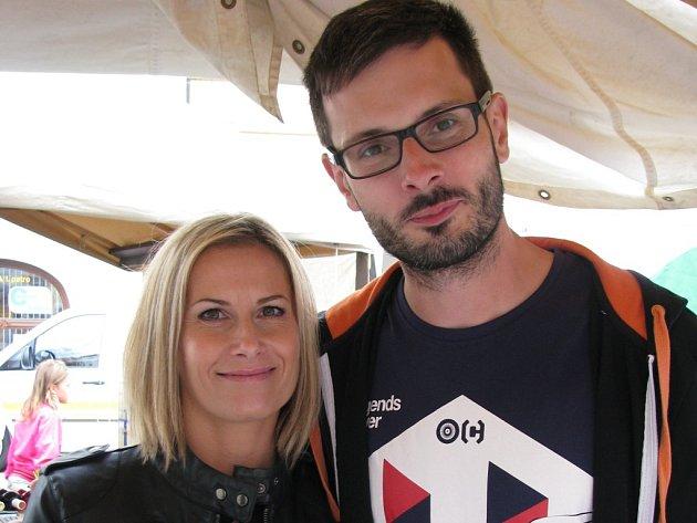 David Erlebach a Marcela Dlouhá