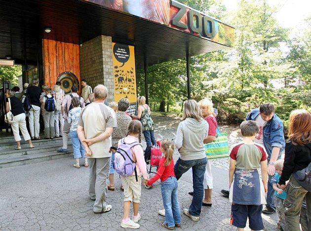 Zoologická zahrada v Liberci.