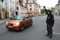 Kvůli nálezu munice je uzavřena Barvířská ulice.
