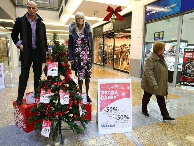 Nakupování vánočních dárků
