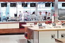 OC Delta se přeměnil na dům jídla s názvem LBC.