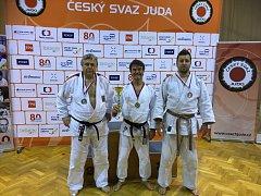 Zleva: Vágner, Šindelář a Pavelka.