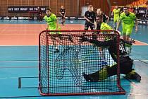 FBC Liberec - Vítkovice 6:9. Pěti body se blýskl hostující Delong.