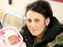 Mamince Adrianě Davidové z Raspenavy se dne 15. ledna v liberecké porodnici narodila dcera Nela. Měřila 51 cm a vážila 3,3 kg.