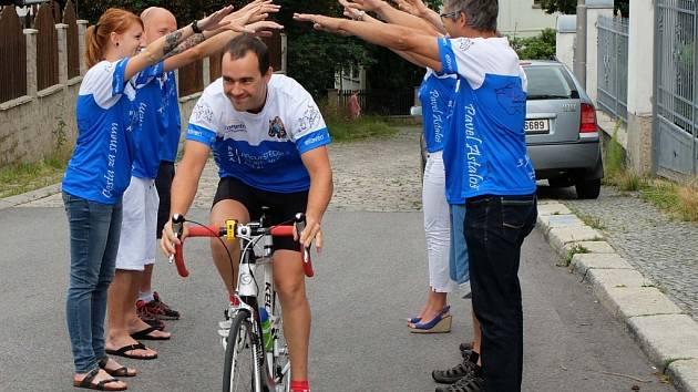Zdolat 2222 kilometrů vyrazil i tým z Liberce.