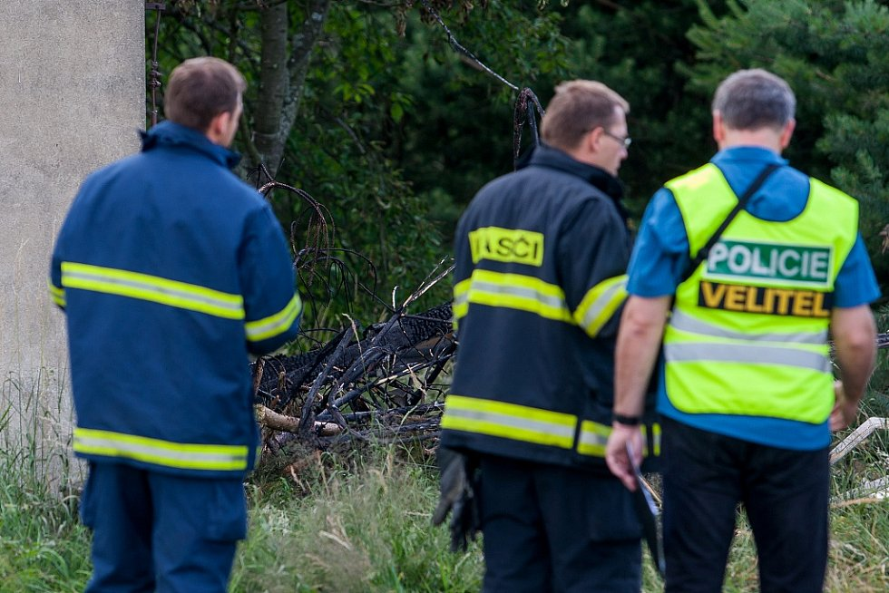 Policie vyšetřuje nehodu lehkého letadla na letišti Aeroklubu Hodkovice nad Mohelkou