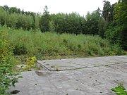 Velký přírodní amfiteátr pro 35.000 diváků byl postavený v roce 1951 za čtvrt roku v rámci socialistických brigád. Na jeho výstavbě v Lidových sadech se tehdy podílelo přes 5000 brigádníků. Rekonstrukcí prošel areál na začátku 80. let, kdy se vylepšilo zá
