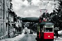 Historická tramvaj oslaví výročí 60 let na trati  Tramvaj typu 6MT č. 117 vyjede v den státního svátku znovu na trať mezi Jabloncem nad Nisou a Prosečí, kde proběhne i malá oslava.