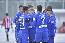 Fotbalisté Liberce postoupili přes Viktorii Žižkov do další fáze MOL Cupu.
