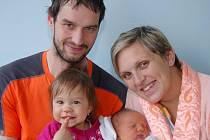 Rodičům Lence a Danielovi Bryknarovým z Liberce se narodil v Liberci 17. dubna syn Štěpán. Vážil 4,16 kg a měřil 53 cm.