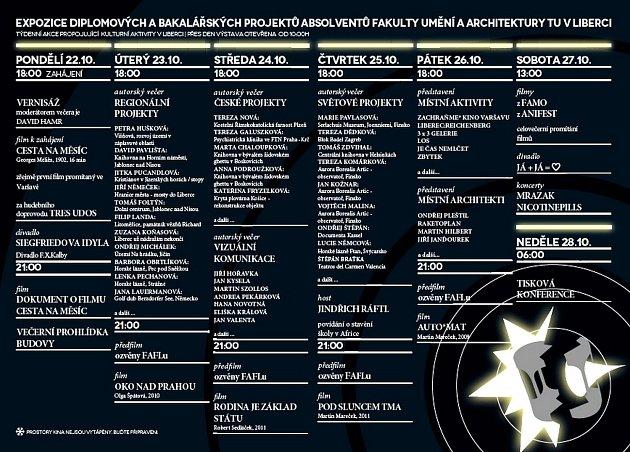 Program Ještěd zklece 2012.