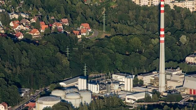 Liberecká teplárna.