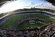 Stadion U Nisy po zápase