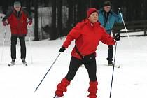 DO BĚŽKAŘSKÝCH stop vyráží každý den desítky lyžařů.