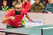 Mohamed Shouman se stal hvězdou čtvrtfinále. Zatím co se mu v základní části nedařilo, v druhém duelu play-off neztratil za stavu 0:2 v neprospěch SKST ani bod