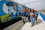 Akce Preventivní vlak na nádraží ve Frýdlantě.