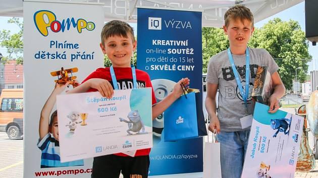Absolutní vítězové - bratří Koupilovi.
