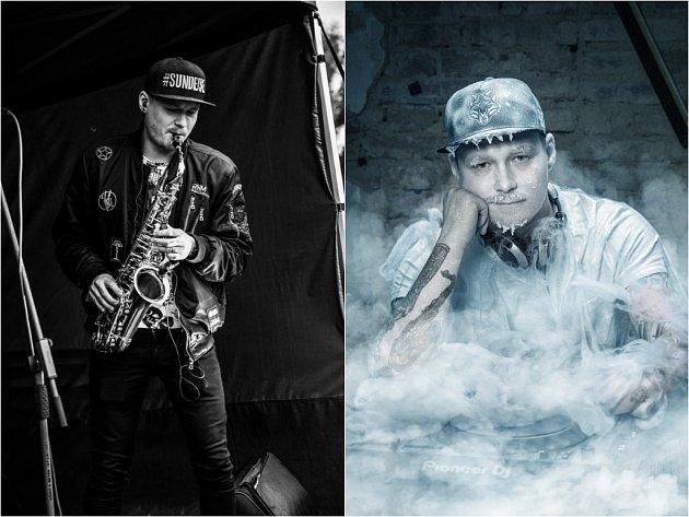 Dj a saxofonista Dj Hrusha.
