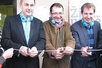 Slavnostně otevřeli první trasa audioprůvodce Živá paměť Liberec Reichenberg