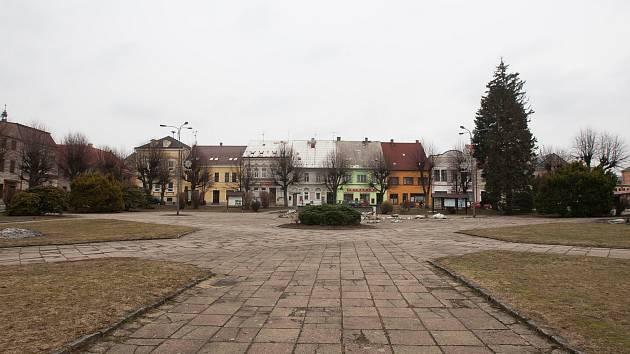 V Novém Městě pod Smrkem plánují rekonstrukci náměstí.