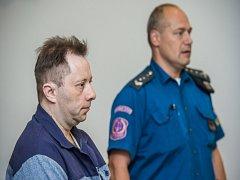 Před krajským soudem v Liberci v úterý poprvé stanul muž, kterého policie obvinila, že před devíti měsíci zavraždil prodavačku v prodejně ve Vratislavicích nad Nisou.