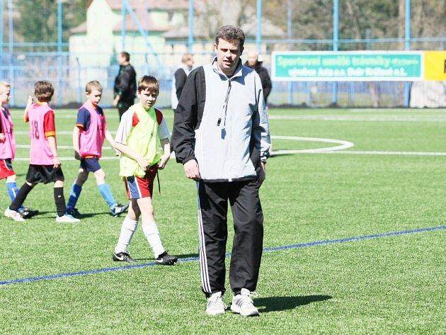 Na snímku trenér Radek Petrement.