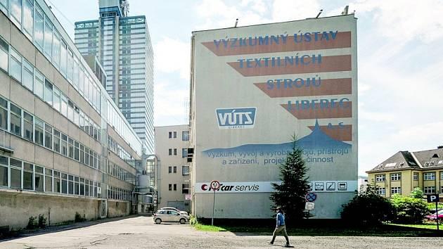 Bývalé sídlo VÚTS.