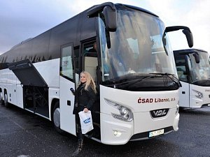 Dva nové autobusy pro ČSAD Liberec a.s.