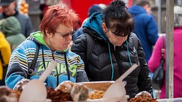 Svatomartinský trh proběhl 11. listopadu na náměstí Dr. E. Beneše v Liberci.