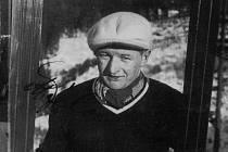 SVĚTOVÝ REKORDMAN. Miloslav Bělonožník zanechal v historii skoků na lyžích skutečně velkou nesmazatelnou stopu.
