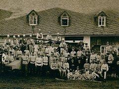 Sbor dobrovolných hasičů z Raspenavy.