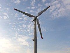 Andělka - větrné elektrárny