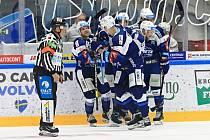 Hokejisté Komety přivítali v dohrávce Liberec. Foto: HC Kometa Brno/Vít Golda