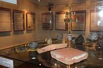 Muzeum vystavuje cennou liturgickou kopii unikátního českodubského ostatkového kříže.
