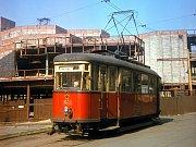 Fotografie z knihy Svět tramvají Erwina Cettinea.