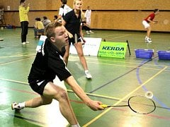 Badminton. Ilustrační foto.