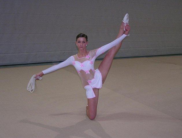 Gymnastka Aneta Nováková.