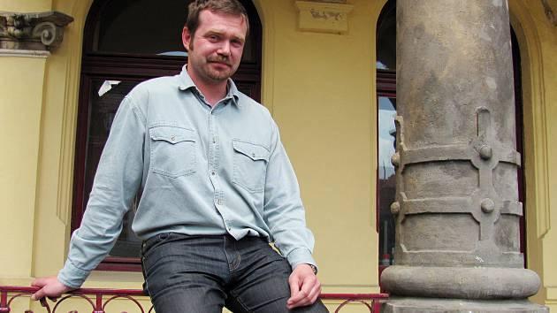 Ředitel Severočeského muzea Jiří Křížek.