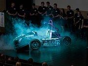 Premiérové představení studentského závodního vozu Formula Student proběhlo 21. června na Technické univerzitě v Liberci.