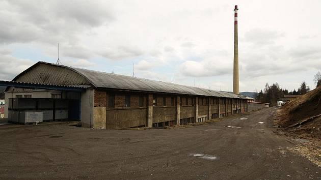Budova, kde byl umístěn koncentrační tábor.