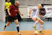 ZLEJ SE(N) SPĚCHÁ DO DRUHÉ LIGY. Mezi stálé aktéry v libereckém týmu patří také exligový fotbalista Jiří Štajner (vlevo).