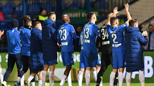 Fotbalisté Slovanu přezimují na devátém místě, přičemž od nepříjemné skupiny o udržení je dělí jen čtyři body.