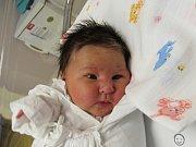 ANNA LUŇÁKOVÁ  Narodila se 30. ledna v liberecké porodnici mamince Kamile Dufkové z Chrastavy. Vážila 3,64 kg a měřila 50 cm.
